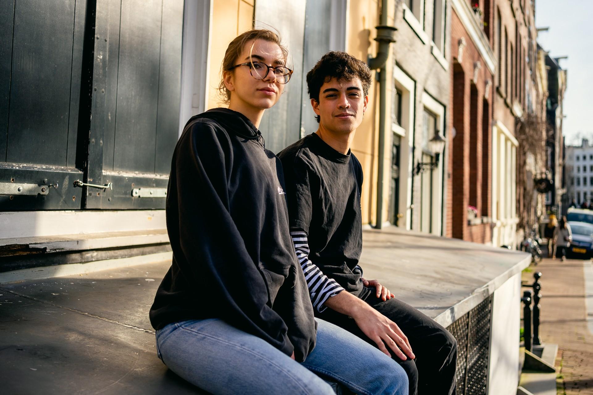 Fito Oak (19) en Cayetana Lapana (19)