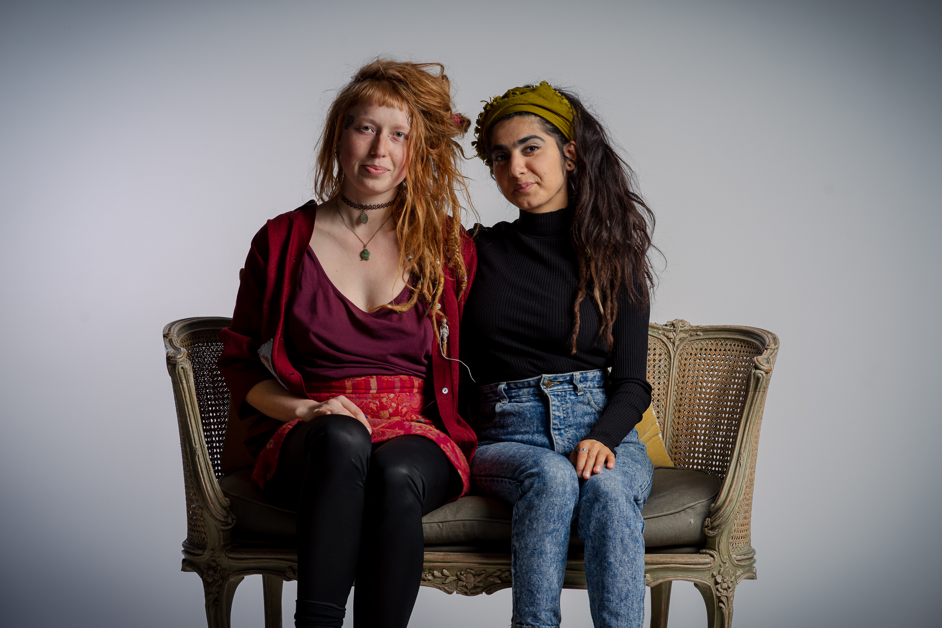 Shimaya Jahangiri (30) en Margo Moutarde (25)