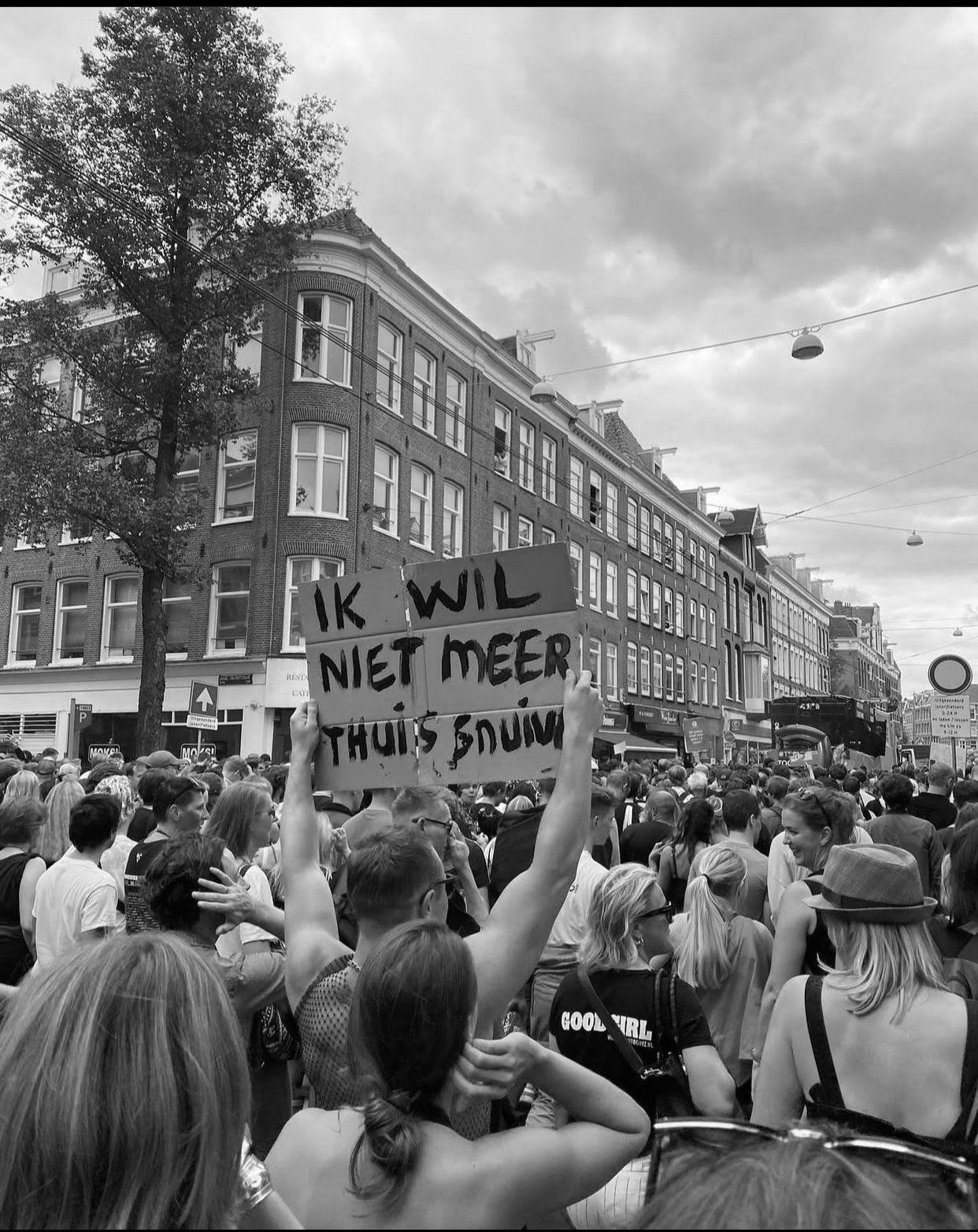Unmute Us-protest gaat over gehoord worden